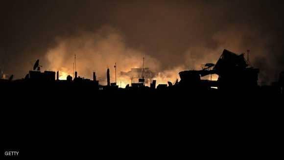 ناشطون: انفجارات عنيفة بموقع للميليشيات الإيرانية في سوريا
