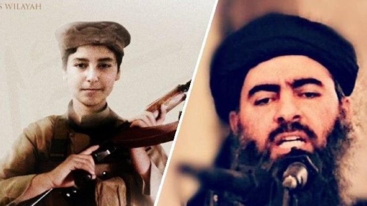 كيف قتل ابن البغدادي.. جدل حول صورة مراهق بكلاشنيكوف