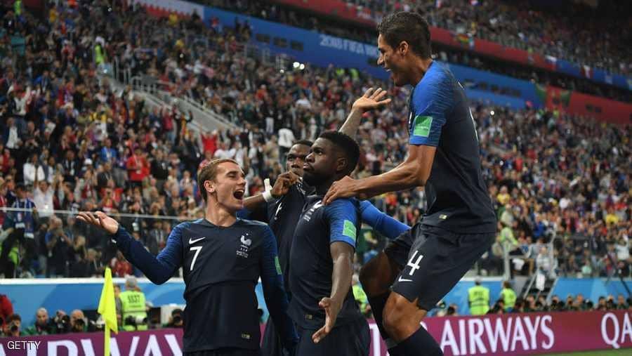فرنسا تعبر بلجيكا.. وتعود إلى نهائي المونديال بعد 12 عاما