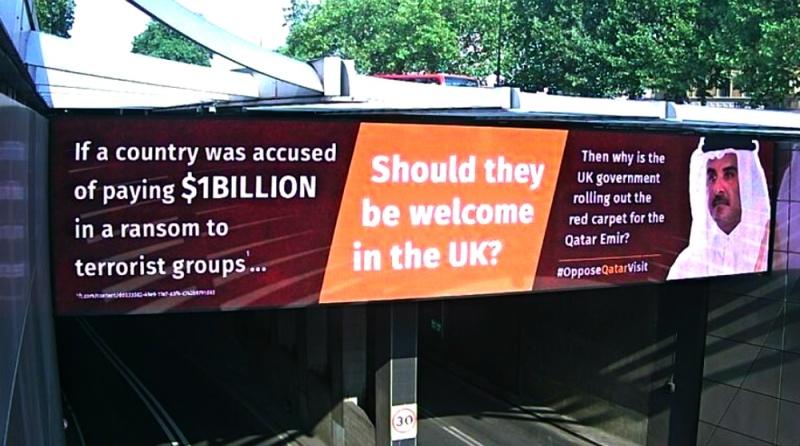 فدية المليار دولار للتنظيمات الإرهابية تحاصر أمير قطر في لندن