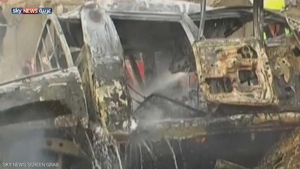 العراق قتلى بتفجير انتحاري في سوق جنوبي كركوك