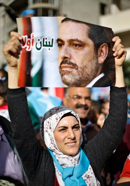 تريث الحريري في الاستقالة ينهي الأزمة اللبنانية