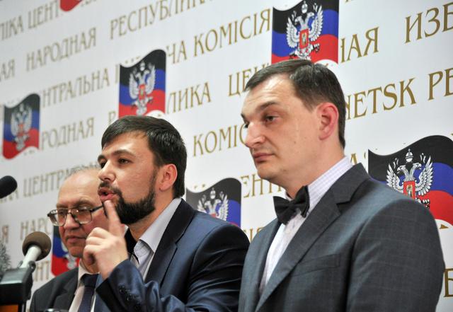 UKRAINE-RUSSIA-POLITICS-CRISIS-DONETSK-PUSHILIN