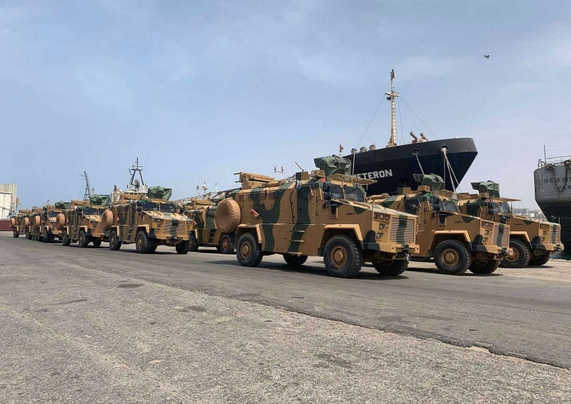 خروج التسليح التركي لميليشيات طرابلس إلى العلن